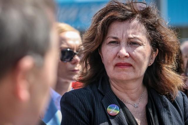 Posłanka Lewicy Beata Maciejewska