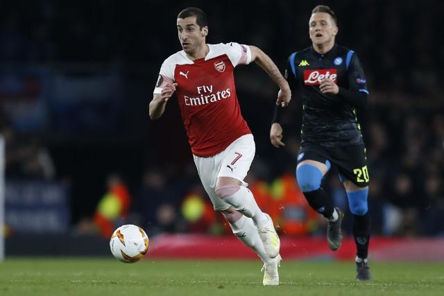 Arsenal w drodze do finału wyeliminował Napoli
