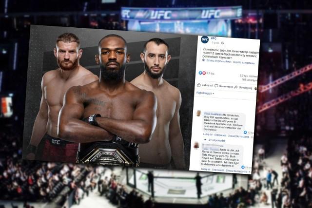 Błachowicz czy Reyes - pyta UFC. Nie tylko dla polskich fanów odpowiedź wydaje się oczywista. Wielu uważa, że Błachowicz zasłużył na walkę o pas