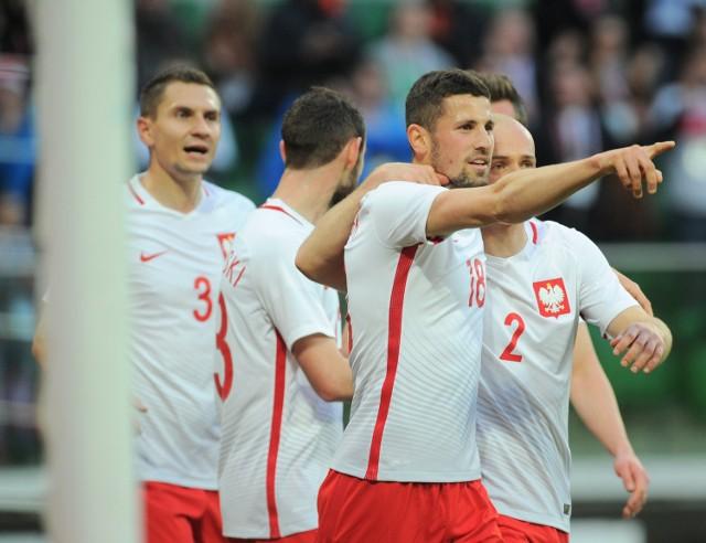 Paweł Wszołek rozegrał w reprezentacji Polski osiem meczów, strzelił dwa gole.