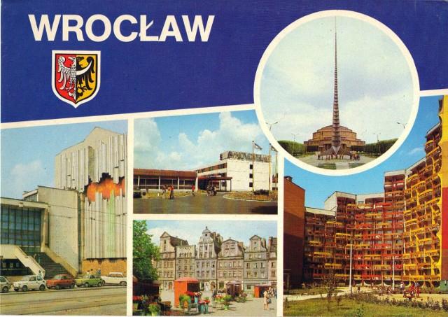 Taki Wrocław pokazywaliśmy innym - zobaczcie jak wyglądały pocztówki z Wrocławia w latach siedemdziesiątych i osiemdziesiątych ubiegłego wieku.