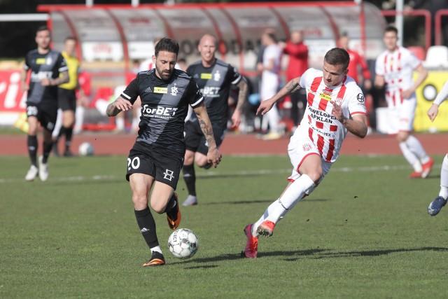 Kamil Słaby we wszystkich siedmiu wiosennych meczach Apklan Resovii grał od 1 do 90 minuty.