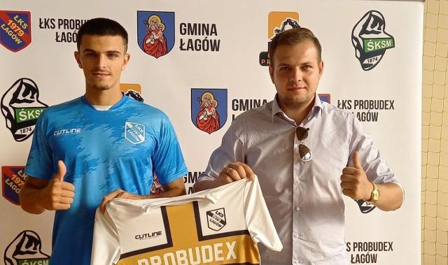 20-letni Hiszpan Daniel Jodar Ruiz został nowym zawodnikiem trzecioligowego ŁKS Probudex Łagów.