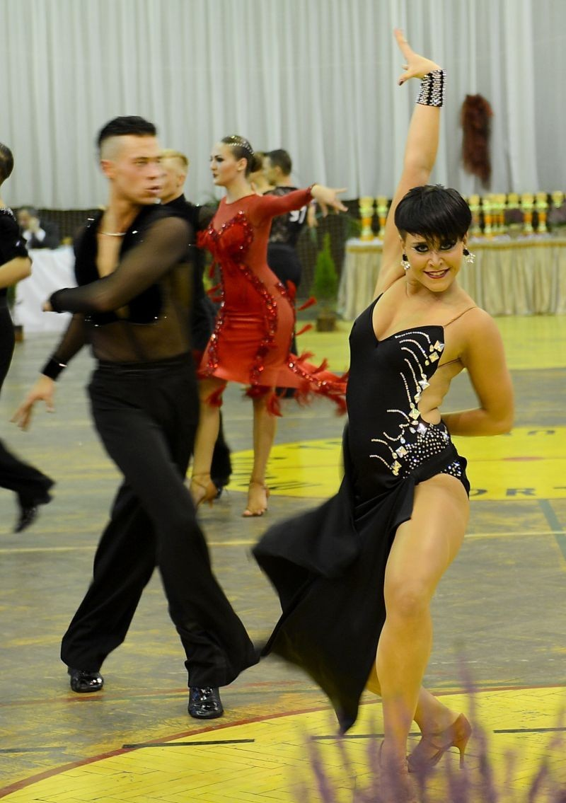 Otwarty Turniej Tańca Towarzyskiego w Lędzinach [FOTO]