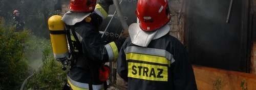 Strażacy w akcji.
