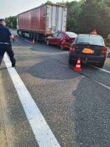 Wypadek na zakopiance. Jedna osoba trafiła do szpitala. Utrudnienia na drodze do Krakowa