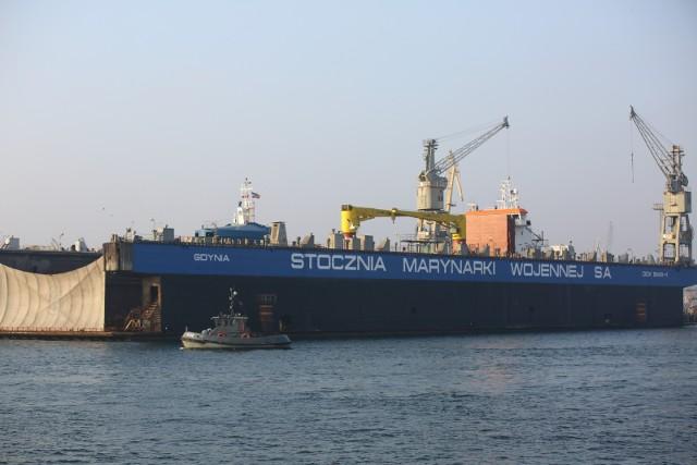 Śmiertelny wypadek w Stoczni Marynarki Wojennej w Gdyni 23.01.2018