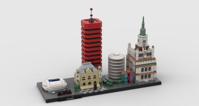 W ostatnim czasie na stronie Lego Ideas pojawił się nowy projekt mieszkańca Poznania Michała Turzańskiego, który przedstawia najważniejsze poznańskie budynki takie jak: Stadion Miejski, Zamek Cesarski, Collegium Altum, Okrąglak i Ratusz wykonane z klocków Lego.