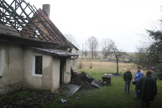 Pożar w Rybniku - pożar domu jednorodzinnego w dzielnicy Stodoły