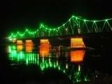 """Włocławski oświetlony most zdobi kalendarz  """"Philipsa"""""""