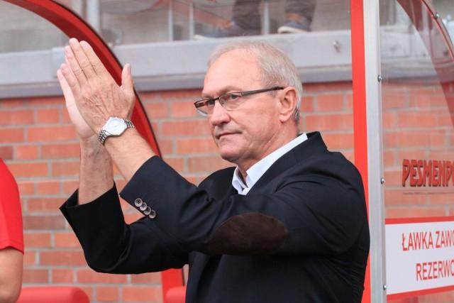 Franciszek Smuda podziękował kibicom w Łęcznej, działacze tamtejszego klubu raczej nie doczekali się od niego braw