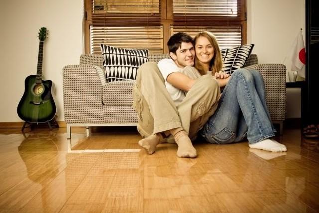 Zakochani mają większą szansę na mieszkanieNajwiększą popularnością cieszą się mieszkania dwupokojowe