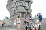 Tłumy na Westerplatte w weekend. Turyści skorzystali z pięknej pogody [GALERIA ZDJĘĆ]