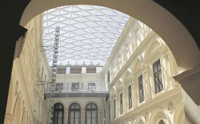Muzeum Czartoryskich jest w remoncie od  2010 roku