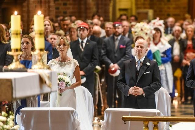 Bartłomiej Wróblewski: Ślub posła PiS w poznańskiej katedrze