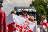 Protest na granicy polsko - białoruskiej. Białorusi demonstrują na przejściu granicznym Bobrowniki-Berestovitsa (zdjęcia)