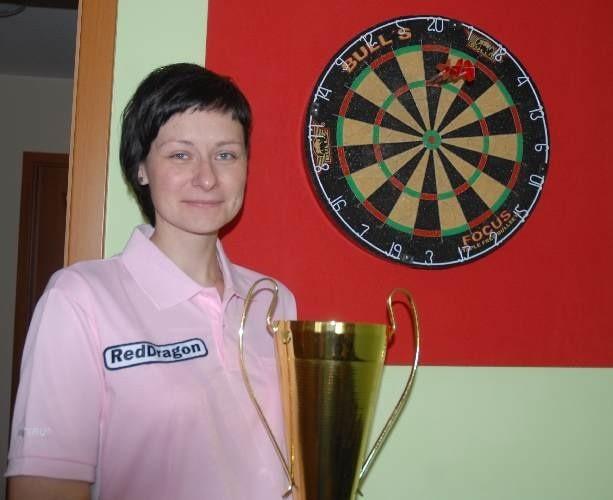 Aleksandra Grzesik została po raz trzeci mistrzynią Polski podczas Mistrzostw Polski Polskiej Organizacji Darta w Lubniewicach.