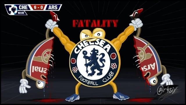 Oto co Chelsea zrobiła z Arsenalem