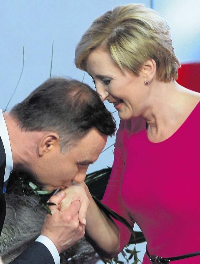 Czy 24 maja Andrzej Duda będzie miał za co dziękować żonie?