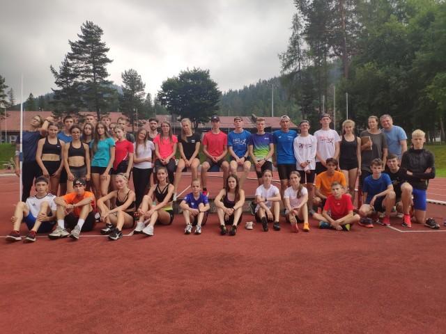 Młodzi biegacze z radomskich klubów trenowali na obozie w Zakopanem.