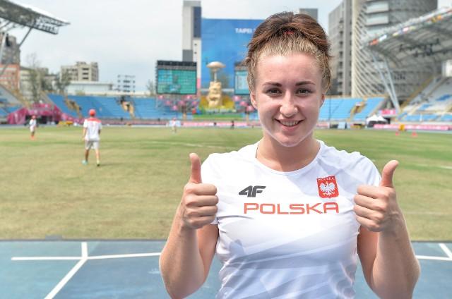 Malwina Kopron jest murowaną kandydatką do złotego medalu w Tajpej