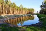 Lasy Państwowe. Podlaskie lasy doczekały się dwóch zbiorników retencyjnych. Będą one źródłem dla zwierząt i ochroną przed pożarem[ZDJĘCIA]