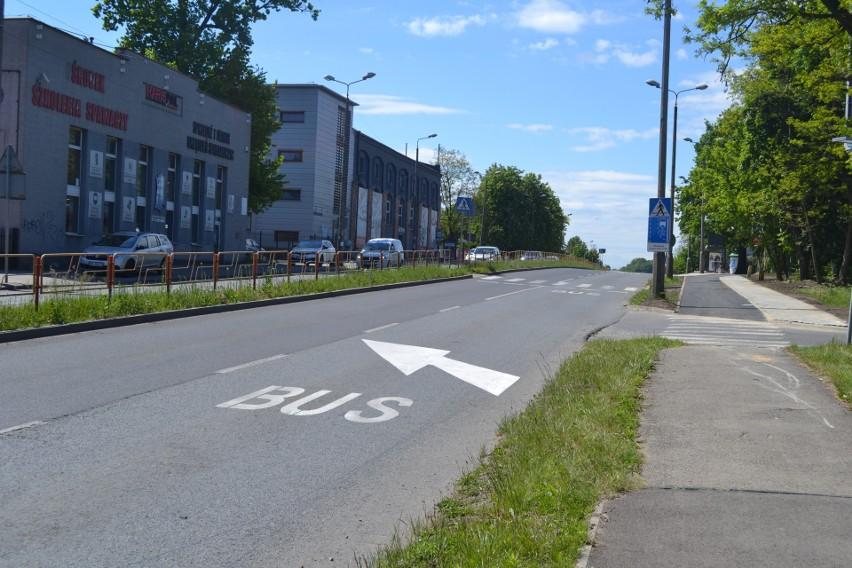 Nowy buspas w Zagórzu w Sosnowcu działa już od 1 lipca....
