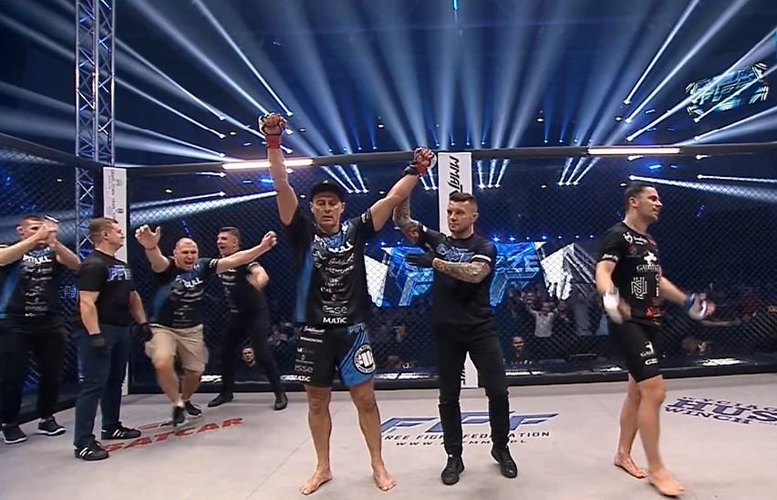 Piotr Świerczewski wygrał walkę MMA w klatce! Zobacz ZDJĘCIA