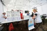 Białe miasteczko: Trójstronny zespół bez protestujących medyków. Demonstranci napisali list do premiera i prezesa PiS