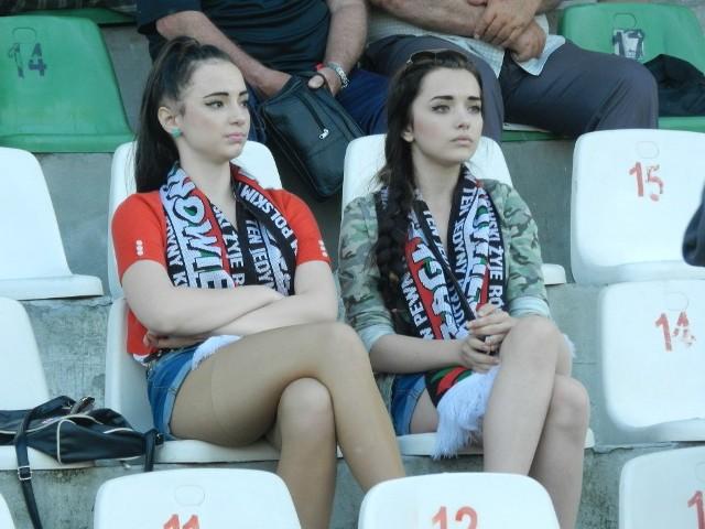 Kibice na meczu Zagłębie Sosnowiec - UKP Zielona Góra 0:2