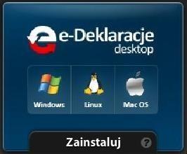Zanim ściągniemy program, musimy tylko wybrać system operacyjny Windows, Linux lub Mac