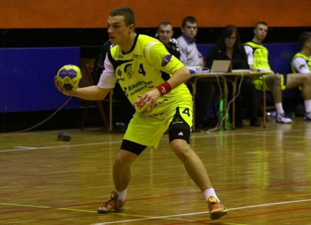 Denis Hertel, najlepszy strzelec turnieju półfinalowego.