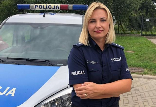 Policjantka będąc na wolnym zatrzymała kierowcę pozbawionego prawa jazdy