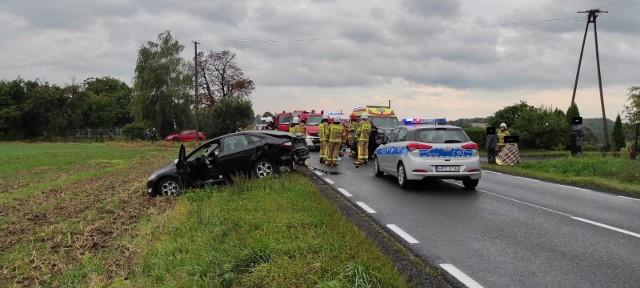 Do wypadku doszło w Wabczu
