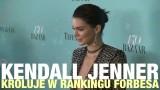 """Kendall Jenner najlepiej zarabiającą modelką według """"Forbesa"""""""