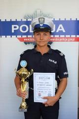 Policjanta z Torunia zajęła drugie miejsce w wyciskaniu sztangi