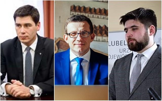 Od lewej: Dariusz Stefaniuk, Andrzej Wnuk, Jakub Banaszek