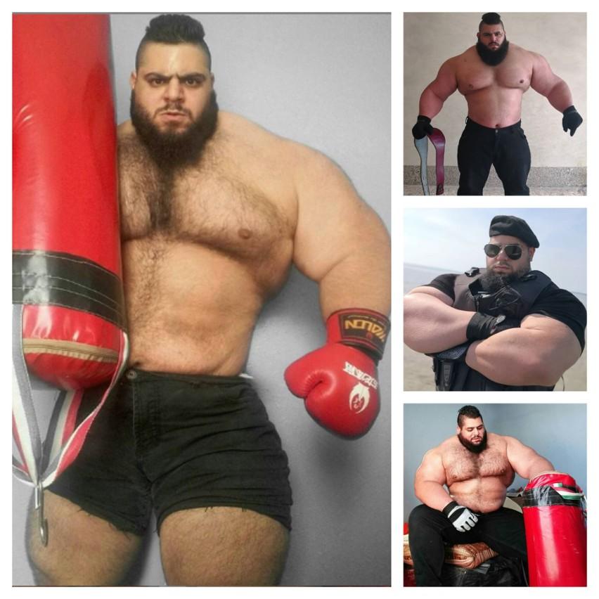 """27-letni Sajad Gharibi, znany szerzej jako """"Irański Hulk""""..."""
