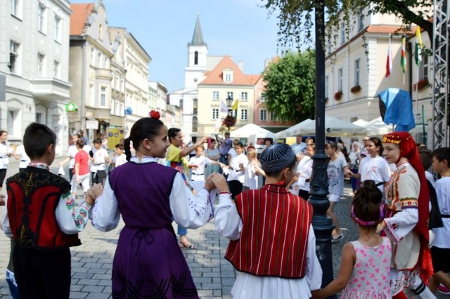 Międzynarodowy Festiwal Folkloru Oblicza Tradycji w Zielonej Górze - występ bułgarskiego zespołu Balgarche.