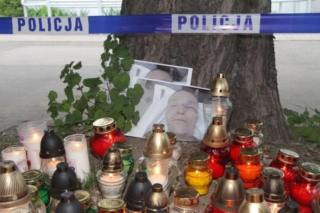Protest w sprawie śmierci Igora Stachowiaka.