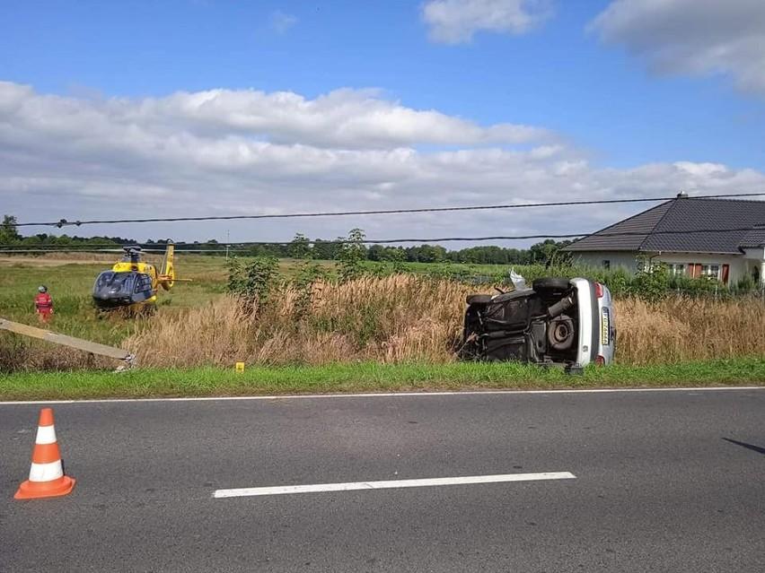 Do wypadku doszło we wtorek, 14 września w Lipkach Wielkich....