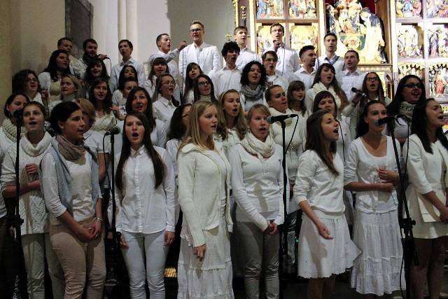 Noc Świętych 2013 w łódzkiej katedrze
