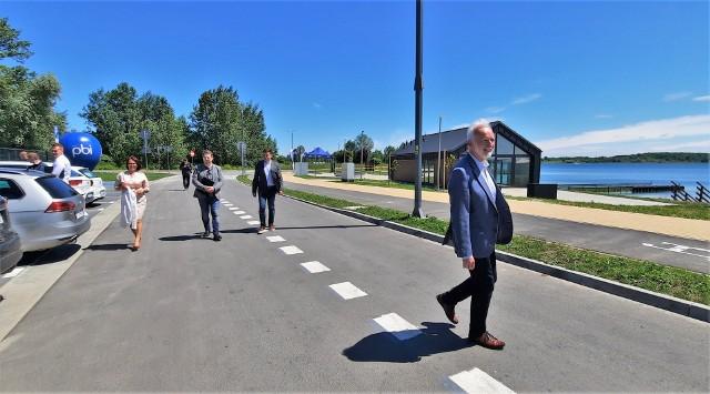 Ulice Żeglarska i Plażowa zostały oficjalnie odebrane w poniedziałek 14 czerwca.
