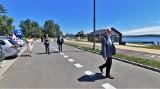 Nowe drogi nad Jeziorem Tarnobrzeskim po odbiorze końcowym. Darmowy wjazd do końca czerwca (ZDJĘCIA)