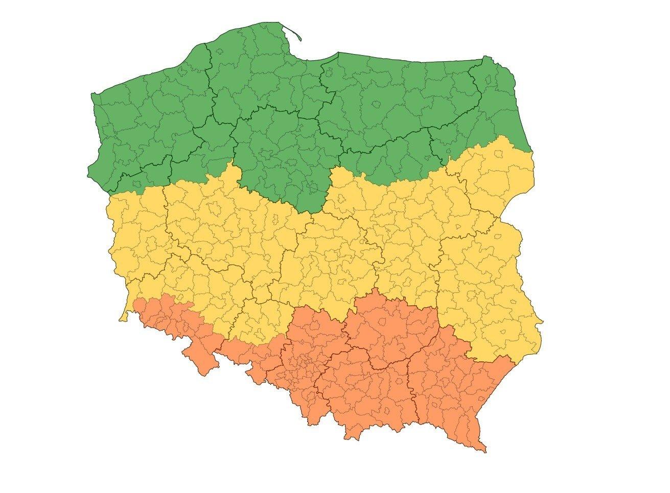 Fabienne Niz Nad Polska Imgw Ostrzezenia Czy Jest Grozny