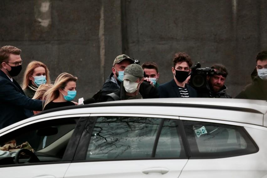 Sławomir Nowak opuścił areszt śledczy w poniedziałek,...