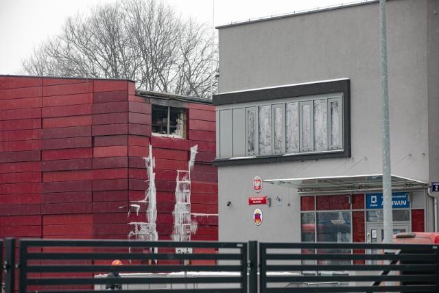 Pożar miejskiego archiwum w Krakowie