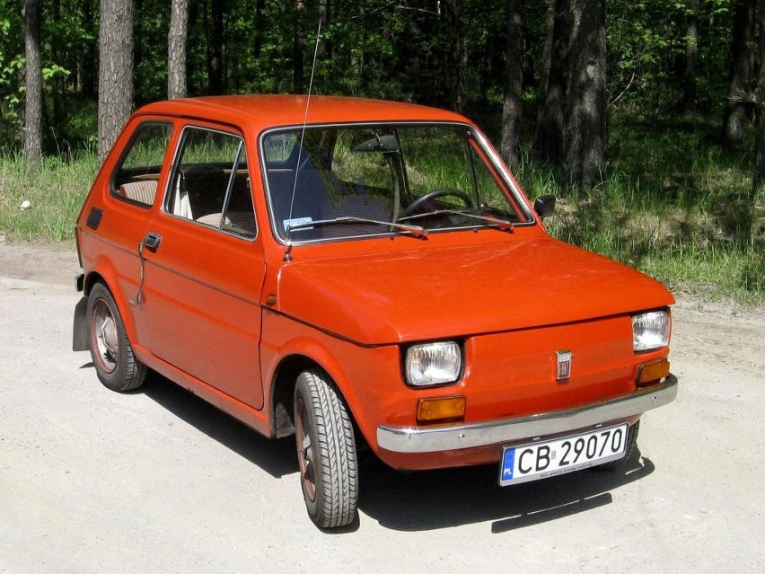 Najczęściej kupowane nowe auto: Fiat 126p...