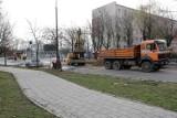 Ulica Piastowska w Białymstoku nadal w remoncie. Przebudowa potrwa dłużej (zdjęcia)