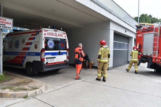 W Wojewódzkim Szpitalu Zespolonym w Lesznie doszło awarii, która doprowadziła do wycieku tlenu. Konieczna jest pilnej naprawa
